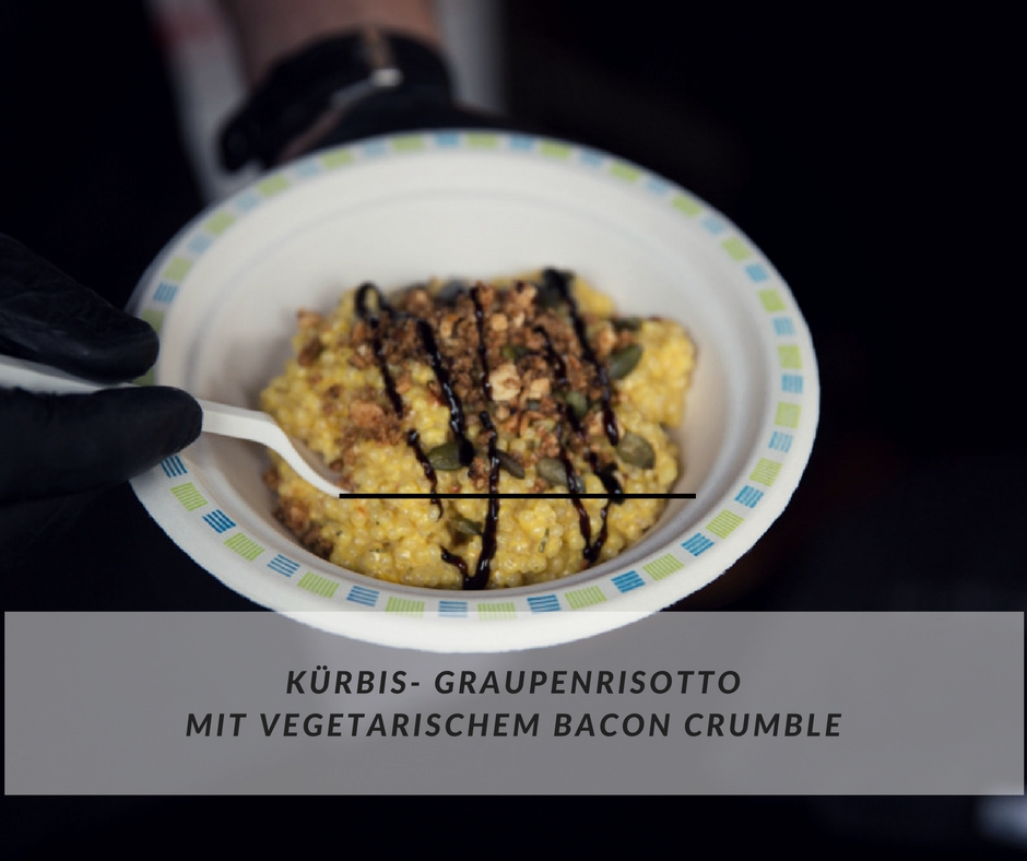 Risotto Kürbis Graupe
